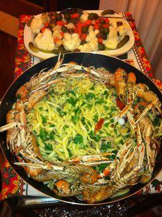 #Sprintage eat #Scialatielli agli Scampi #Pasta hand made with #scampi
