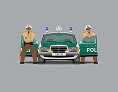"Check out new work on my @Behance portfolio: ""German police. Vector."" http://be.net/gallery/37467883/German-police-Vector"
