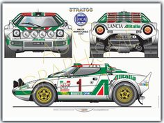 Classic Car News Pics And Videos From Around The World Sport Cars, Race Cars, Lancia Delta Integrale, Rallye Wrc, Models Men, Automobile, Car Posters, Car Drawings, Automotive Art