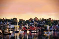 Lunenburg, a beautiful UNESCO heritage fishing village, in Nova Scotia, Canada. Nova Scotia Tourism, Nova Scotia Travel, Ottawa, East Coast Travel, East Coast Road Trip, Alberta Canada, Calgary, Quebec, Lunenburg Nova Scotia