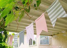Baking with Blondie : Pink, Grey & White Baby Girl Shower