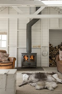 When do I move in? 😍 Fireplace World along with Stove World are Glasgow's only stockist of CHARNWOOD. Exceptional wood and multi fuel stoves Basement Fireplace, Farmhouse Fireplace, Fireplace Mantels, Fireplaces, Gas Stove Fireplace, Wood Fireplace, Fireplace Design, Farmhouse Decor, Wood Stove Surround