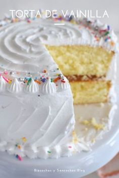 Funfetti Kuchen, Funfetti Cake, Banana Recipes, Cake Recipes, Dessert Recipes, Food Cakes, Cupcake Cakes, Bolos Cake Boss, Cocoa Cake