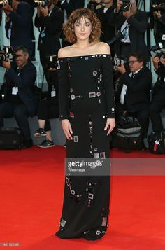 Dakota Johnson attends a premiere for 'A Bigger Splash' during the 72nd Venice Film Festival at on September 6, 2015 in Venice, Italy.