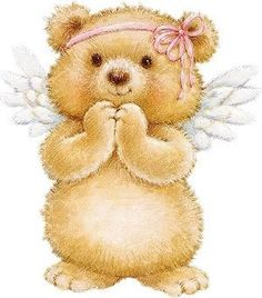 angel bear coloring pages - photo#35