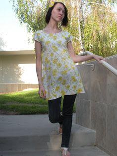 Lil'Bit Beth: Pillowcase Shirtdress Tutorial