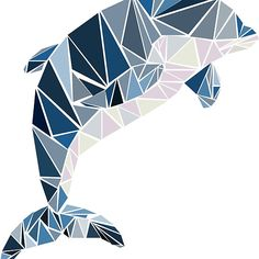 Geometric dolphin