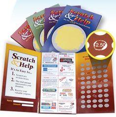 Scratch Card Fundraising