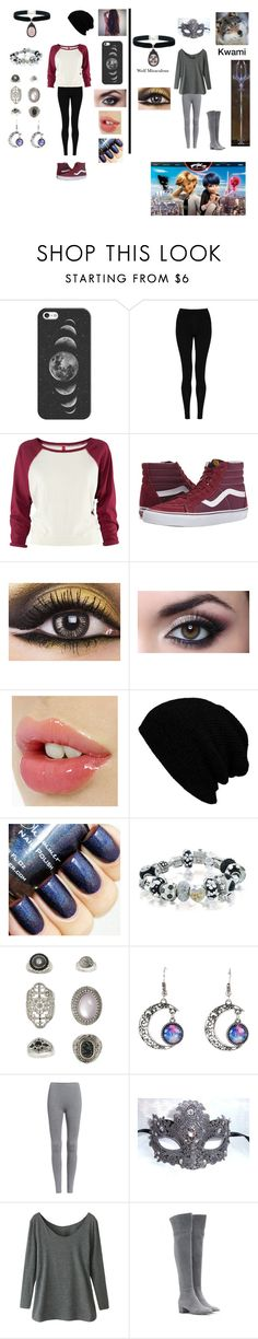 """""""Miraculous Ladybug"""" by themortalinstrumentslover ❤ liked on Polyvore featuring Casetify, M&S Collection, H&M, Vans, Bling Jewelry, Topshop, Gianvito Rossi, Rock 'N Rose, women's clothing and women"""