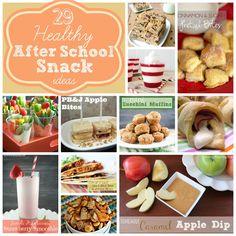 29 Healthy After School Snack Ideas