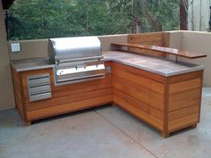 """Receive great recommendations on """"outdoor kitchen countertops grill area"""". They … Receive great recommendations on """"outdoor kitchen countertops grill area"""". They are actually available for you on our website. Outdoor Bbq Kitchen, Outdoor Kitchen Countertops, Tile Countertops, Outdoor Kitchen Design, Outdoor Kitchens, Outdoor Barbeque, Kitchen Grill, Backyard Kitchen, Summer Kitchen"""