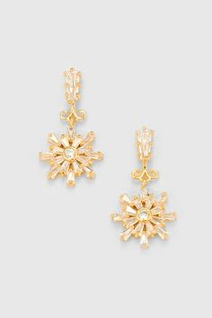 CZ Sedona Earrings in Gold