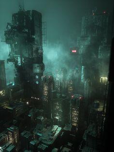 What Is Cyberpunk, Arte Cyberpunk, Cyberpunk 2077, Cyberpunk Aesthetic, City Aesthetic, Dark Tumblr, Sci Fi City, Dark City, City Background