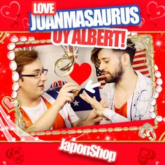 EXCLUSIVA!! petición de mano de Juanmasaurus a UY Albert! e el nuevo vídeo de JaponShop! youtu.be/Ilok4QAWz7U
