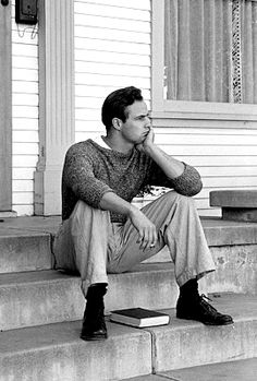 "sherilynhorne: "" thelittlefreakazoidthatcould: "" Marlon Brando photographed by Edward Clark, "" God damn can a bitch live "" Marlon Brando, Hollywood Icons, Old Hollywood, Edward Clark, Known Unknowns, Jean Simmons, Al Pacino, Old Movies, The Dreamers"