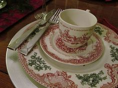 Noble Excellence - Twas the Night Before Christmas china