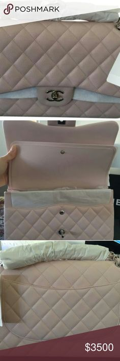 New medium New with tags chanel light pink medium flap CHANEL Bags Crossbody Bags