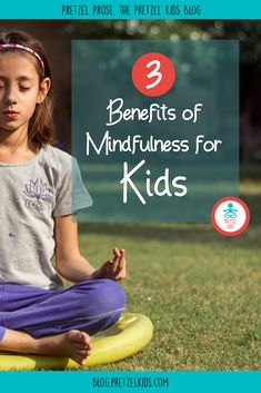 Mindfulness for kids helps with attention, strengthens self-control, and lowers anxiety and stress. Here are the top 3 benefits of mindfulness for children. Benefits Of Mindfulness, Mindfulness For Kids, Mindfulness Activities, Yoga For Kids, Exercise For Kids, Fitness Activities, Activities For Kids, Teaching Kids, Kids Learning