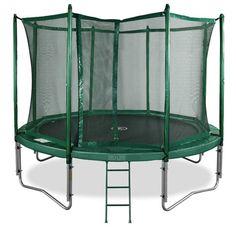 Laadukas PRO-LINE trampoliini on kestävä ja turvallinen valinta lapsiperheelle!