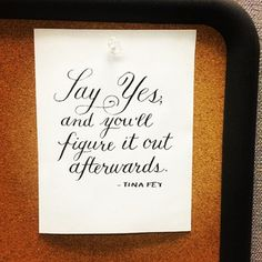 Tack up some inspirational quotes.   54 Ways To Make Your Cubicle Suck Less (While I have an office, it's a disorganized unpretty mess. Could that change?)