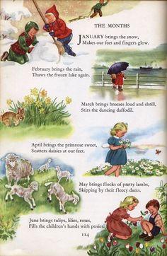 ideas vintage books kids fun for 2019 English Stories For Kids, Short Stories For Kids, English Story, Nursery Rhymes Poems, Kids Poems, Images Vintage, Moral Stories, Vintage Children's Books, Children's Book Illustration