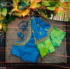Neckline Embroidery for classy lovers Simple Saree Blouse Designs, Kids Blouse Designs, Pattu Saree Blouse Designs, Hand Work Blouse Design, Stylish Blouse Design, Kurta Designs Women, Bridal Blouse Designs, Father Of The Bride Outfit, Diana