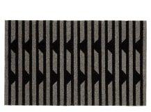 Vico Stripe Doormat 45 x 75cm, Monochrome
