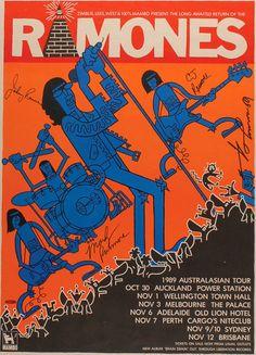 - The Ramones Concert Poster Artwork Ramones, Musik Illustration, Concert Rock, Vintage Concert Posters, Retro Posters, Tour Posters, Music Artwork, Art Graphique, Grafik Design