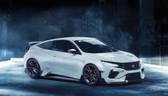 This is a car we want to see Honda build - the Civic Type R coupe. Based on the Civic coupe concept first unveiled at the New York Auto Show earlier this Honda Civic Coupe, Honda Civic Type R, Auto Honda Civic, Honda Civic 2017, Civic Type R 2017, 2018 Honda Accord, Civic Lx, Honda Civic Hatchback, Soichiro Honda