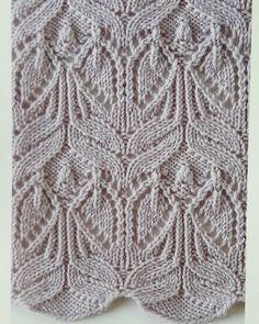 Japanese Lace Knitting Stitch - Knitting Kingdom