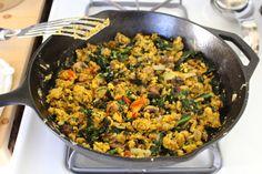 Recipe: Besan Scramble (High Protein Soy-Free Gluten-Free Vegan Power Breakfast!