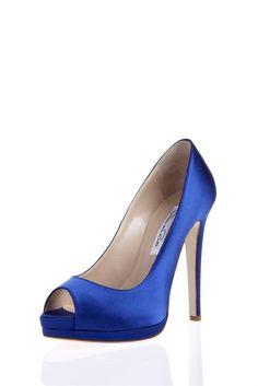 Oscar de la Renta - Bridal Shoes - Satin Peeptoe Platform - http://womenspin.com/shoes/oscar-de-la-renta-bridal-shoes-satin-peeptoe-platform/