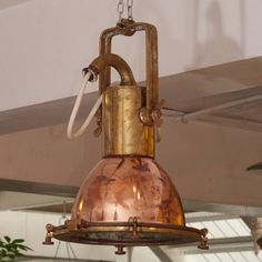 Brass and Copper Ship Light