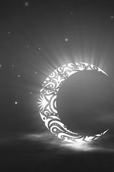 Crescent moon design