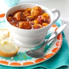 Meatball Minestrone Recipe from Taste of Home