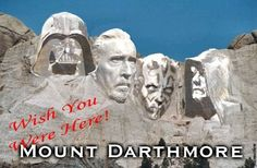 Mount Darthmore #Star Wars