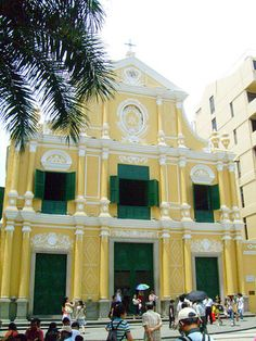 Nice St Dominic Square Macau images - http://www.macau-mega.com/nice-st-dominic-square-macau-images/
