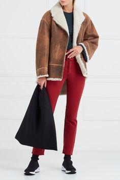 Лонгслив в рубчик MM6 Maison Margiela - Лонгслив из зеленого трикотажа в рубчик от ММ6 Maison Margiela в интернет-магазине модной дизайнерской и брендовой одежды