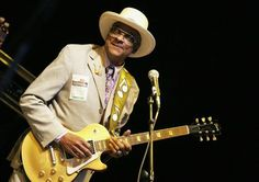 hubert sulmin image | Fernando Leon/Getty Images Hubert Sumlin, performing at Central Park ...