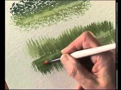 ▶ Terry Harrison's Pro Arte Masterstroke Brushes - The Stiff Blender/ Wipeout - used for making waves