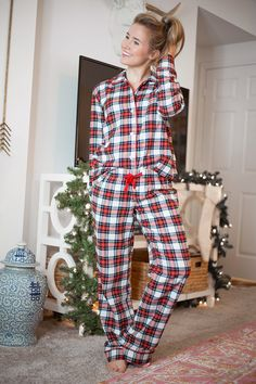 4faddb267 14 Best Girls Christmas Pajamas images