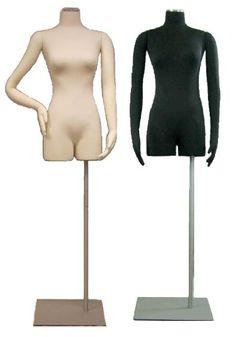 Flexible Arms Dress Form, Female  Dress Form, Jersey Form, Floor Freestanding Form