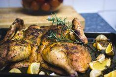 Gevlinderde kip uit de Airfryer, oven of van de barbecue