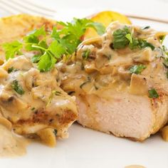 Chicken Steak With Mushroom Sauce Recipe
