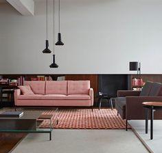 Canapé design en cuir, velours, 2 places, 3 places, italien... - CôtéMaison.fr