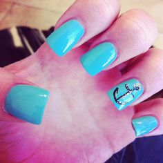 Anchor nails- these are my real nails done in Orlando
