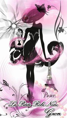 322 meilleures images du tableau guerlain la petite robe - Dessin parisienne ...