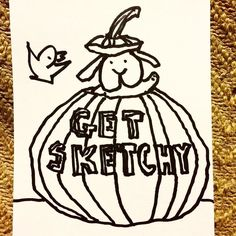 Join us every Wednesday at Trackside Tavern for some social sketch time with the Atlanta Sketch Society. The usual crew will be there from 8pm until ?? All skills levels and art styles welcome.  #atlsketchsociety Spread the word! This week's theme is #jackolantern #drinkanddraw