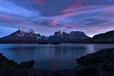 Cuernos Sunrise Part 1 - Chile Photograph by Stuart Litoff