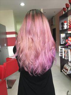 💜 purple hair 💜